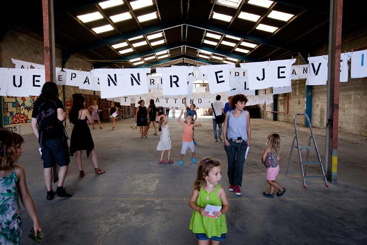 Travellings, événement organisé par Lieux Publics à la cité des arts de la rue.Dusan Zahoransky/Le passage.
