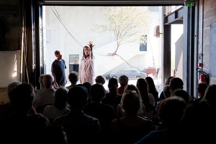 Travellings, événement organisé par Lieux Publics à la cité des arts de la rue. The Walden Collective/Wald;